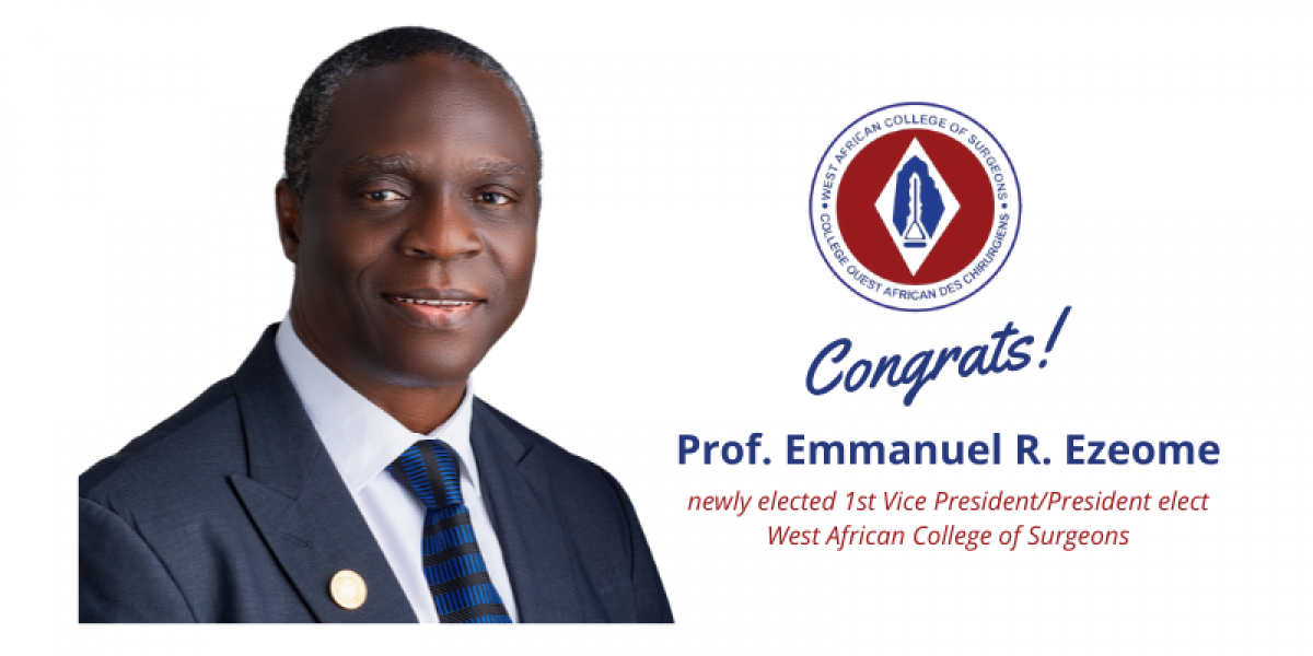 Prof Ezeome WACS