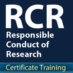 Certificate Training in Responsible Conduct of Research (RCR)
